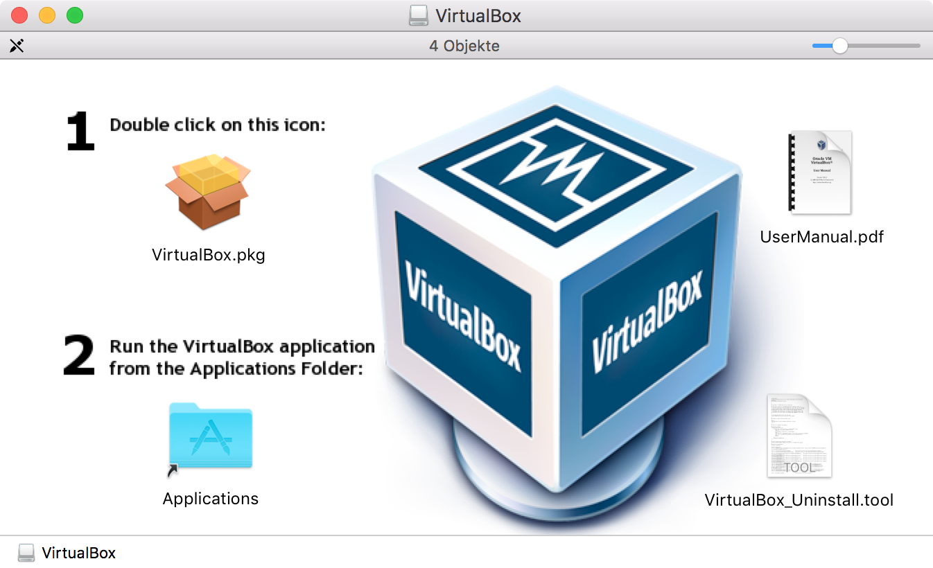 Disk Image VirtualBox
