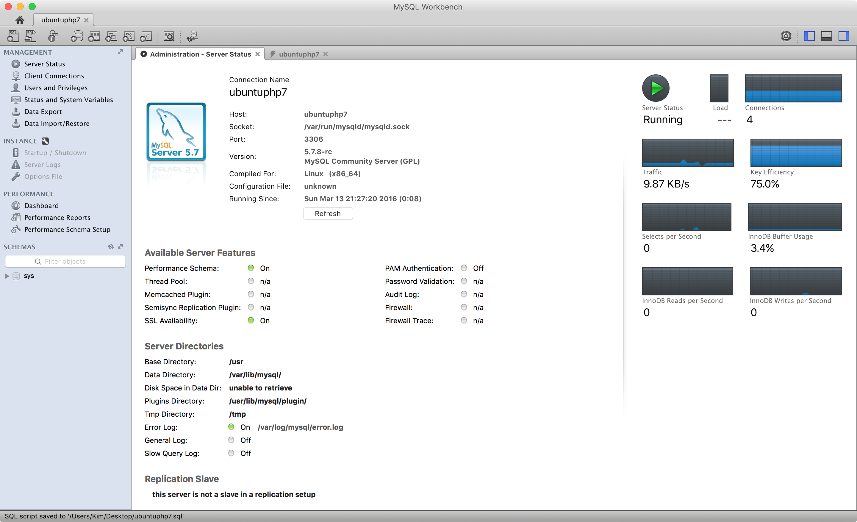 MySQL Workbench-Verbindung zum MySQL in VirtualBox
