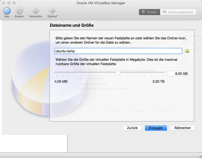 Dateiname und maximale Image-Größe